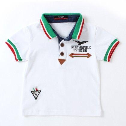Noddy  White Polo Neck T-shirt