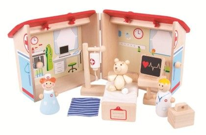 Mini Hospital Playset - Big Jig Toys