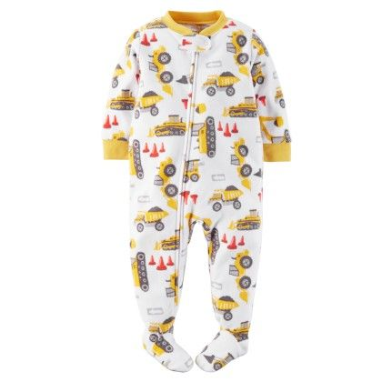 4-piece Snug Fit Cotton Pjs - White - Carter's - 146909