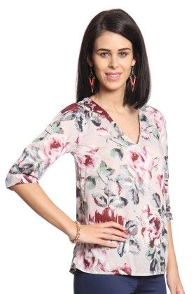 Women Printed Top - Cotton World