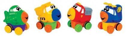Press 'n' Go Transportation - Small World Toys