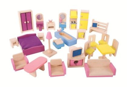 Heritage Playset Doll Furniture Set - Big Jig Toys - 147962