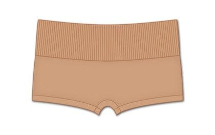 High Waisted Hot Pant-nude - Rene Rofe