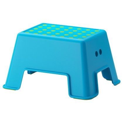 Bolmen Step Stool - Blue - Home Essentials