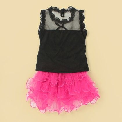 Gorgeous Tutu Skirt & Top - Lil Mantra