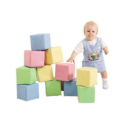 Toddler Baby Blocks - Pastel - The Children's Factory