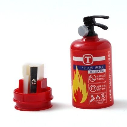 Fire Extinguisher Sharpener - Red - Happy Gifts