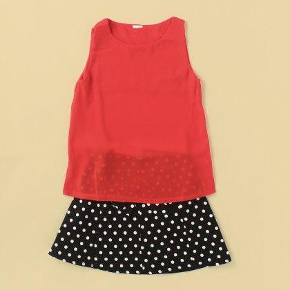 Salsa Top & Skirt Set - Lil Mantra