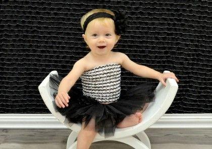 Black & White Tutu Set - Dress Up Dreams