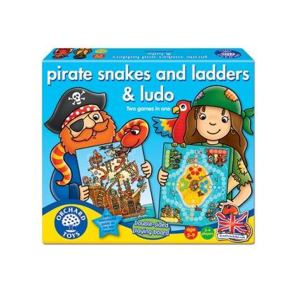 Pirate Snakes And Ladders & Ludo - ORCHARD TOYS