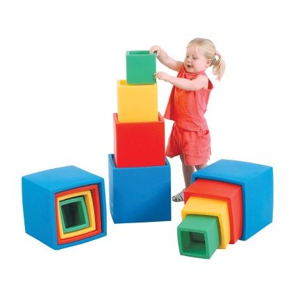 Nest 'n Stack Blocks - The Children's Factory