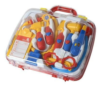World Of Toys - Plastic Toy Set In Carry Case - Simba