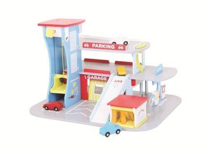 Heritage Playset City Auto Centre - Big Jig Toys