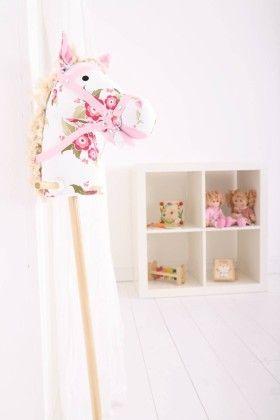 Floral Hobby Horse - Big Jig Toys