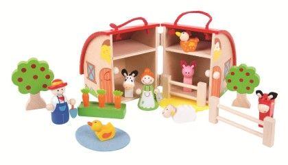 Mini Farm Playset - Big Jig Toys