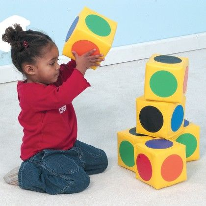 Match The Dot Blocks - The Children's Factory