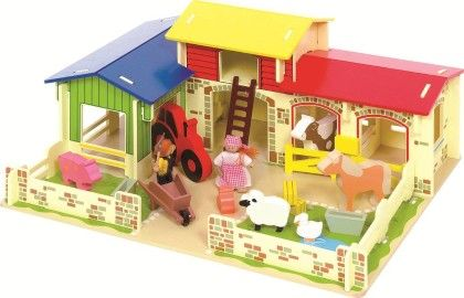 Heritage Playset Meadow Farm - Big Jig Toys