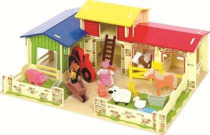 Heritage Playset Meadow Farm - Big Jig Toys