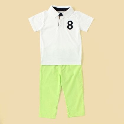 Smart Boy 2pc Set - Lil Mantra