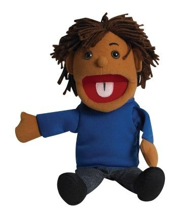 Ethnic Children Puppets - Boy - Med. Tone - The Children's Factory