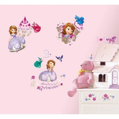 Sofia The First Wall Decals - Disney Wall Decals