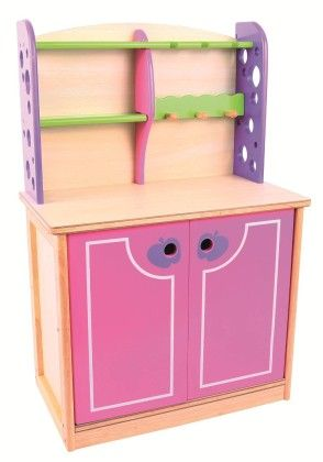 Pink And Green Kitchen Dresser - Big Jig Toys