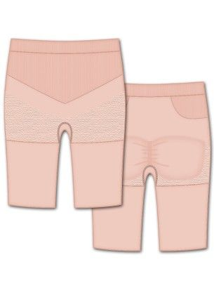 Seamless Engineered Bike Short-rose - Rene Rofe
