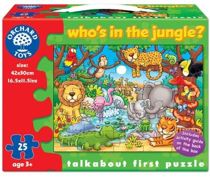 Who's In The Jungle? - ORCHARD TOYS