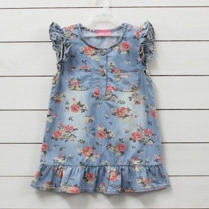 Little Denim Dress - Little Muffet