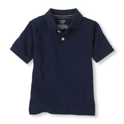 Short Sleeve Solid Polo Nautico - The Children's Place