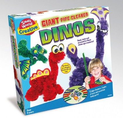 Giant Pipe Cleaners Dinos - Small World Toys