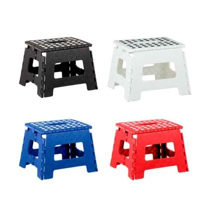 Folding Stool With Dots Small - Assorted (1 Unit) - HDS