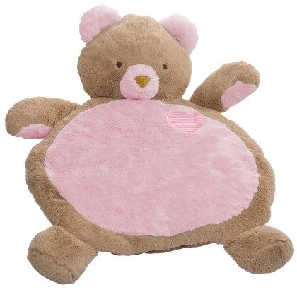 Bestever Bear Baby Mat (pink) - 31x23 - Mary Meyer