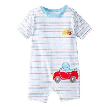 Baby-boys Newborn Born To Ride Jumper - Bon Bebe
