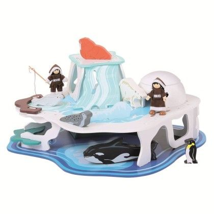 Heritage Playset Polar Glacier - Big Jig Toys