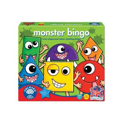 Monster Bingo Game - ORCHARD TOYS