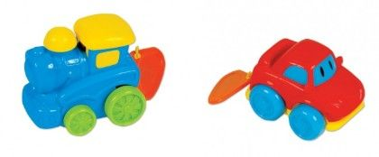 Pull String Mini Vehicles - Small World Toys