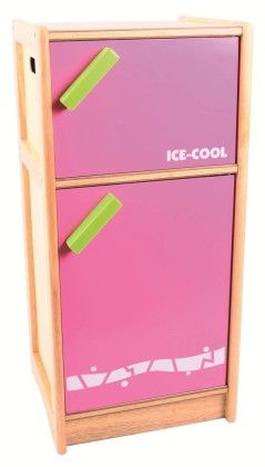 Pink And Green Kitchen Fridge - Big Jig Toys