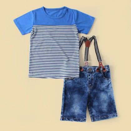 Short Suspender Set - Lil Mantra