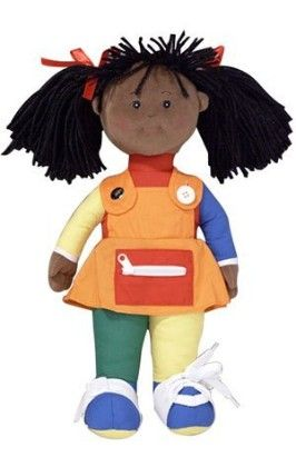 Learn To Dress African American Girl - The Children's Factory