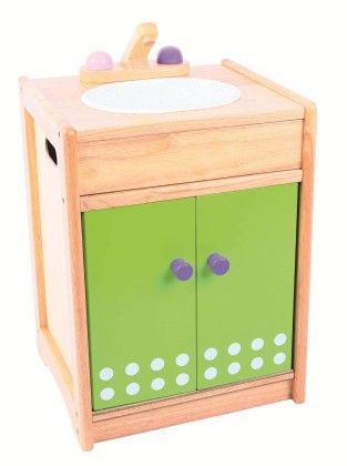 Pink And Green Kitchen Sink - Big Jig Toys