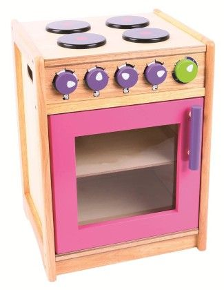 Pink And Green Kitchen Cooker - Big Jig Toys