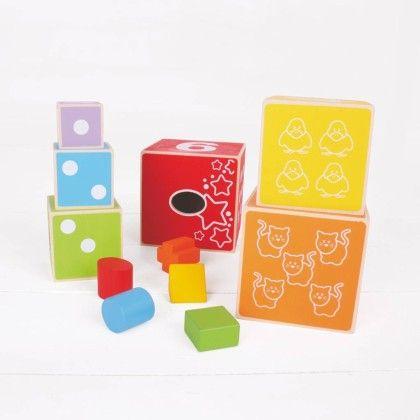 Stacking Cubes - Big Jig Toys
