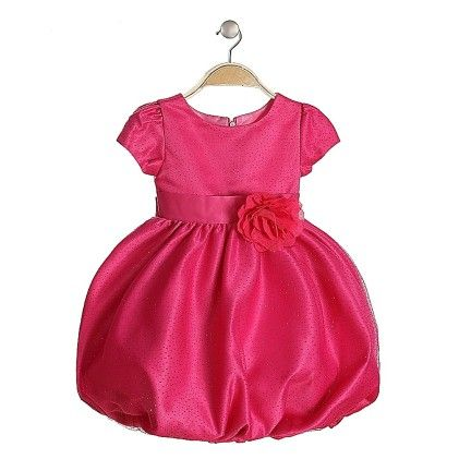 Flower Frock Hot Pink - Lil Mantra