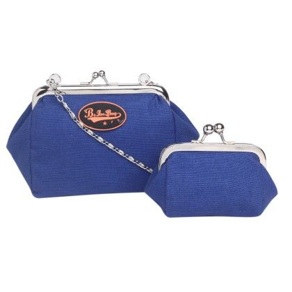 Nina Solid Royal Blue Coin Clutch Sling - Be For Bag