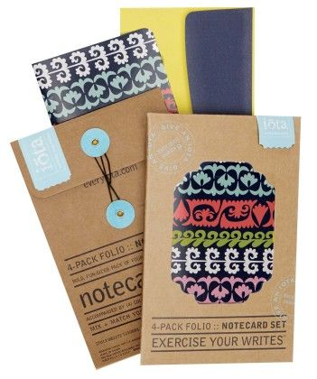 4-pack Folio Notecard Set - Dearest - CR Gibson
