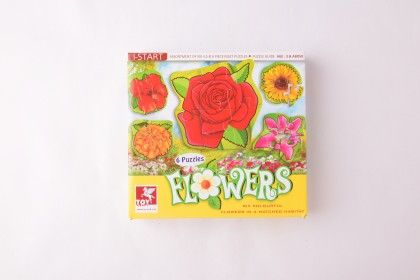 Super Set Of Six - Flowers - TOY-KRAFT