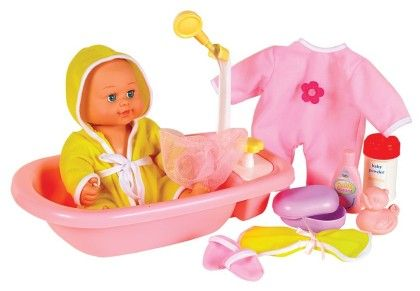 Baby's Bath Time - Brittany - Small World Toys