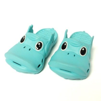 Hippo - Slip Ons-blue - Red Apple