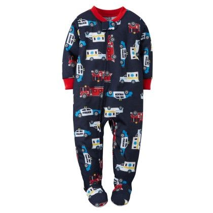 1-piece Snug Fit Cotton Pjs - Navy - Carter's